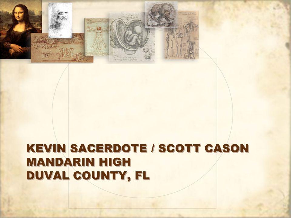 Kevin Sacerdote / Scott Cason Mandarin High Duval County, FL