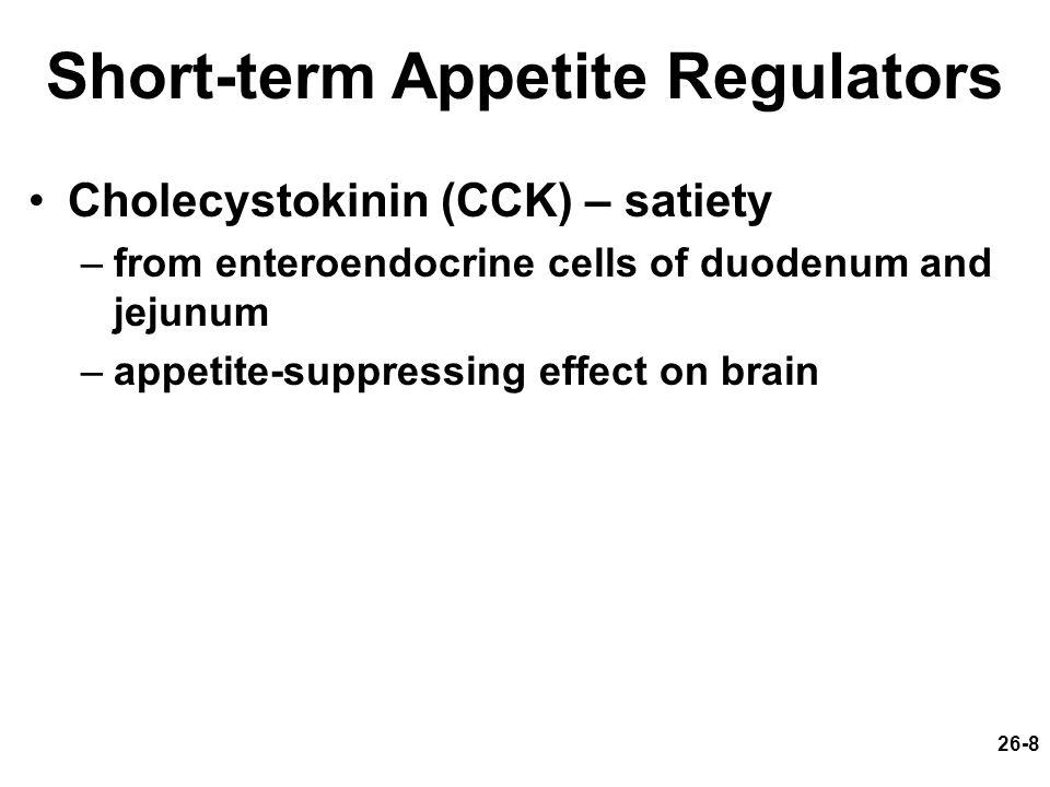 Short-term Appetite Regulators
