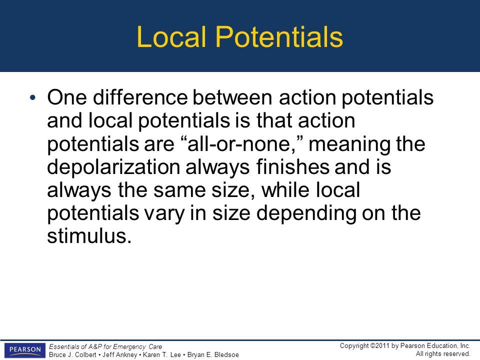 Local Potentials