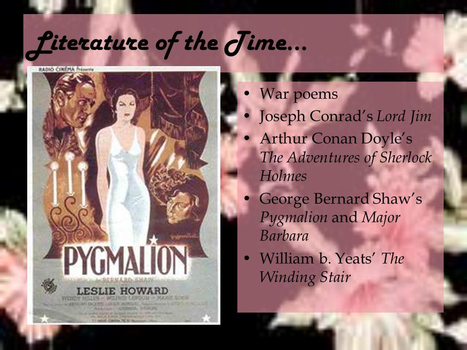 pygmalion literary analysis essay