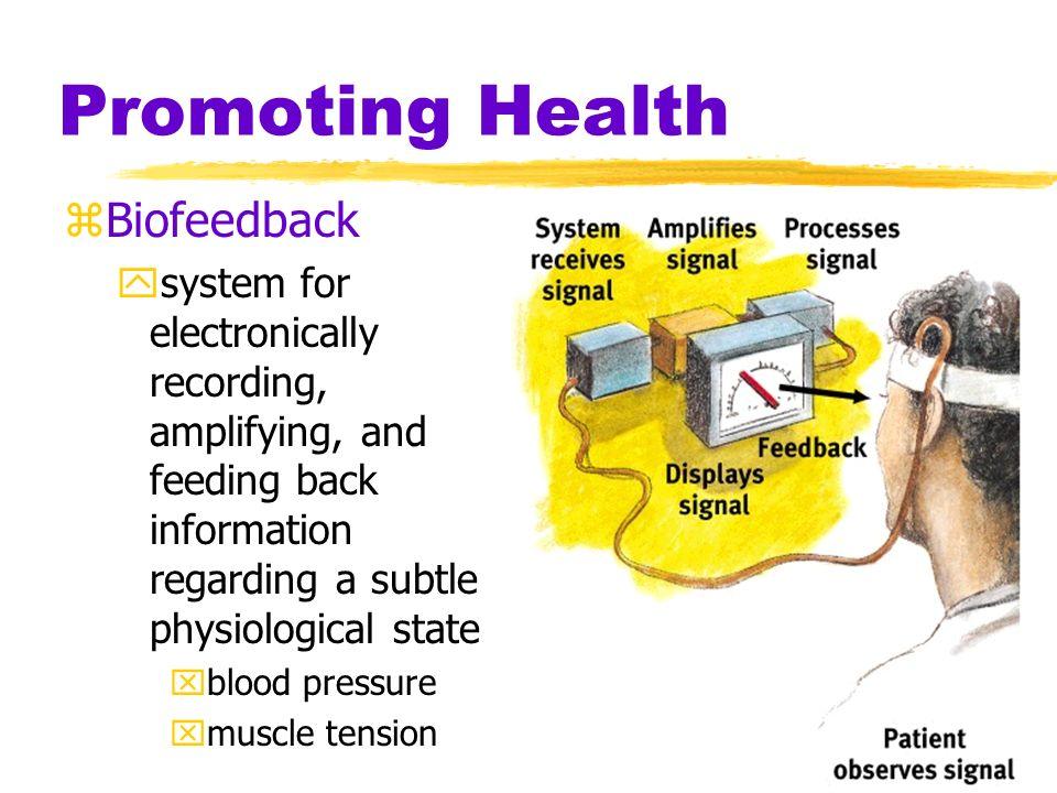 Promoting Health Biofeedback