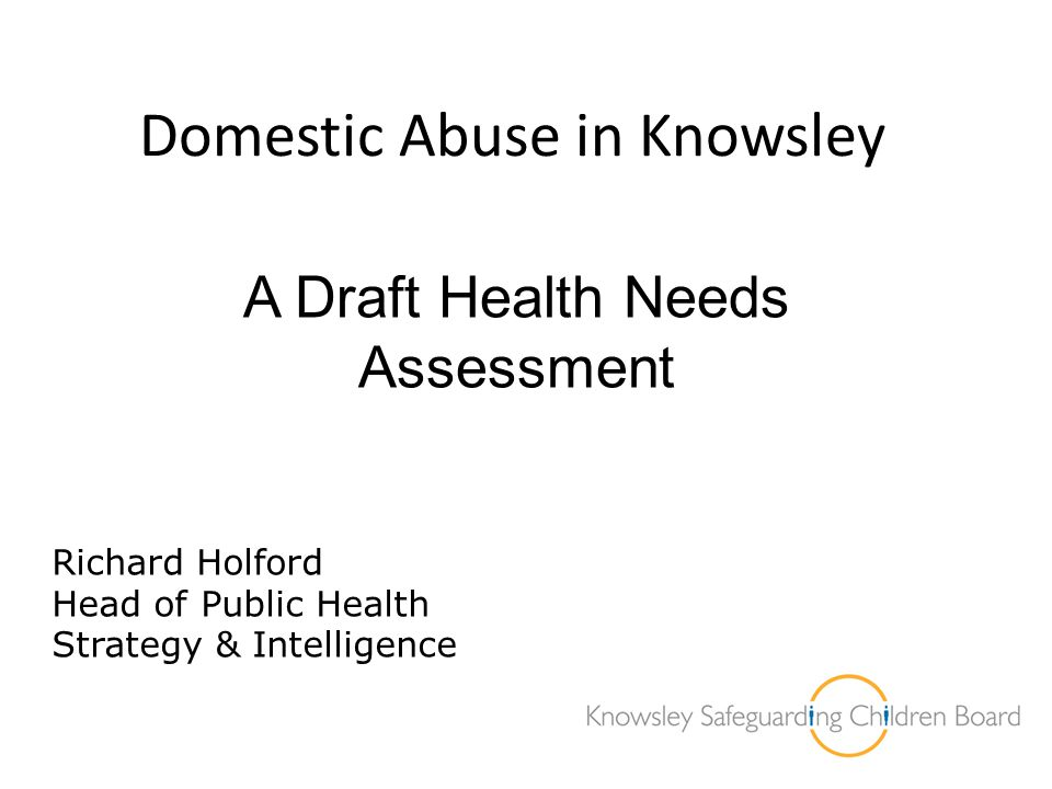 Domestic Abuse in Knowsley