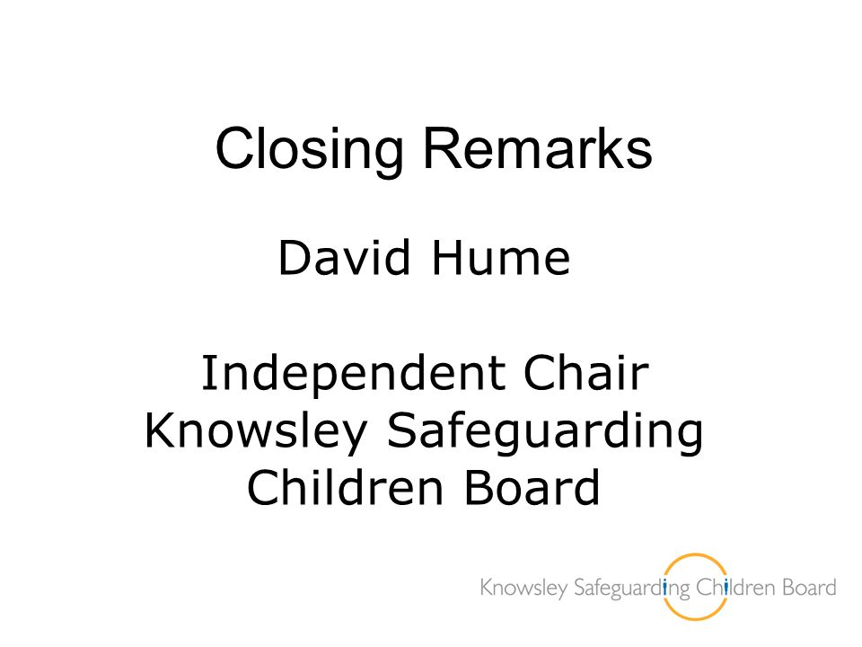 Knowsley Safeguarding Children Board