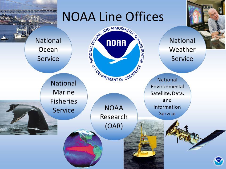 NOAA Line Offices National Ocean Service National Weather Service