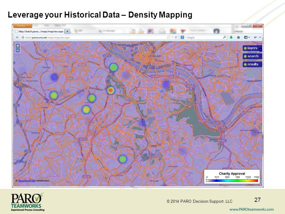 Leverage your Historical Data – Density Mapping
