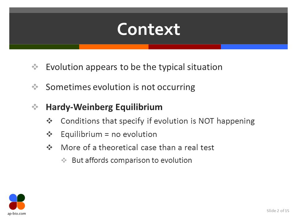 Context Evolution appears to be the typical situation