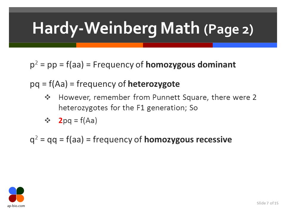 Hardy-Weinberg Math (Page 2)