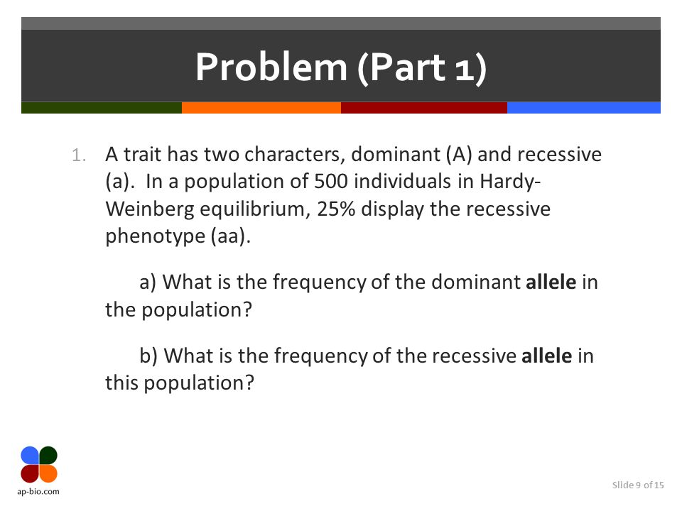 Problem (Part 1)