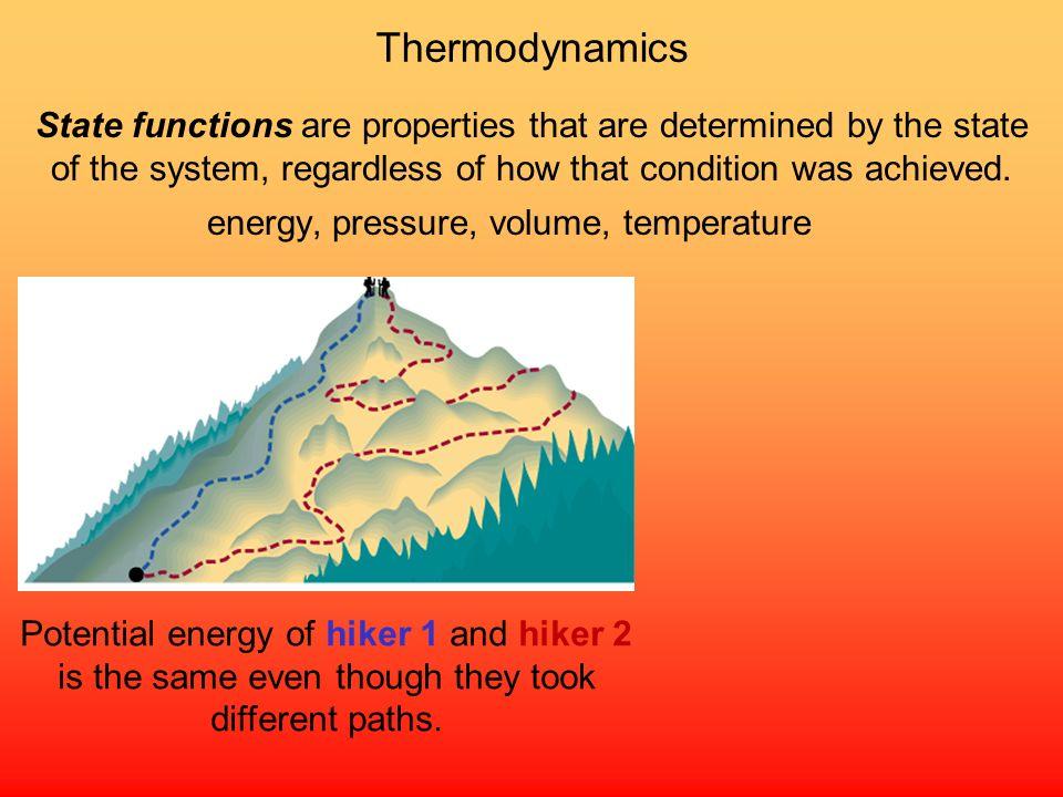 , pressure, volume, temperature