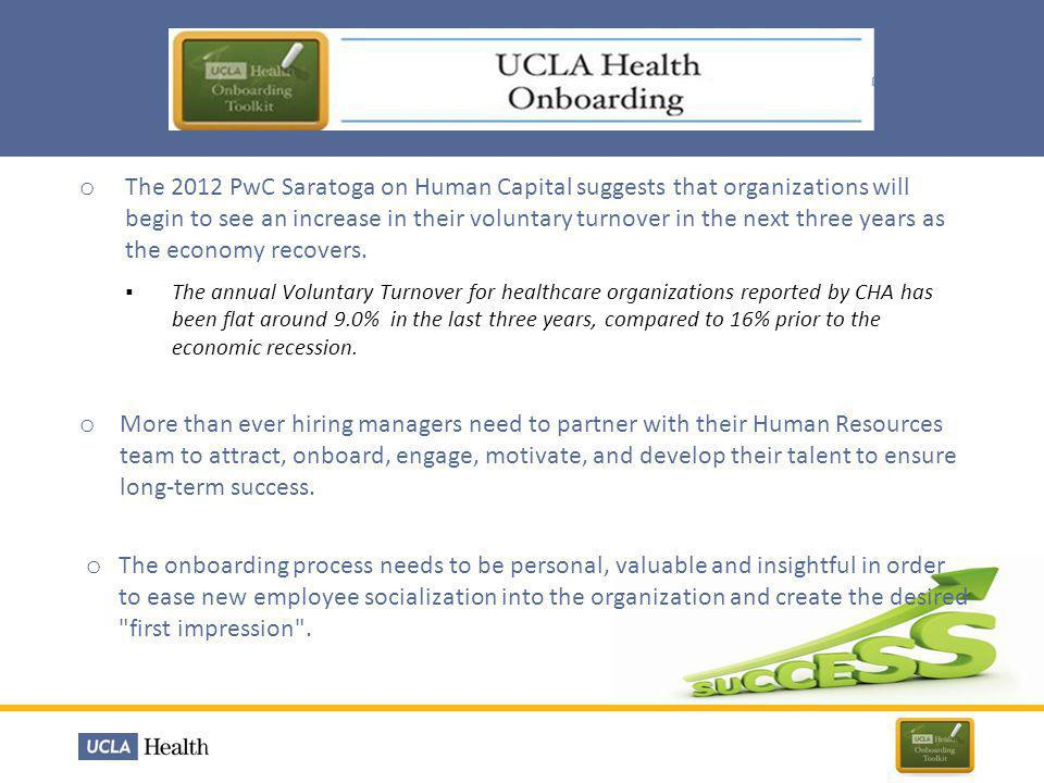 The 2012 PwC Saratoga on Human Capital suggests that organizations will begin to see an increase in their voluntary turnover in the next three years as the economy recovers.