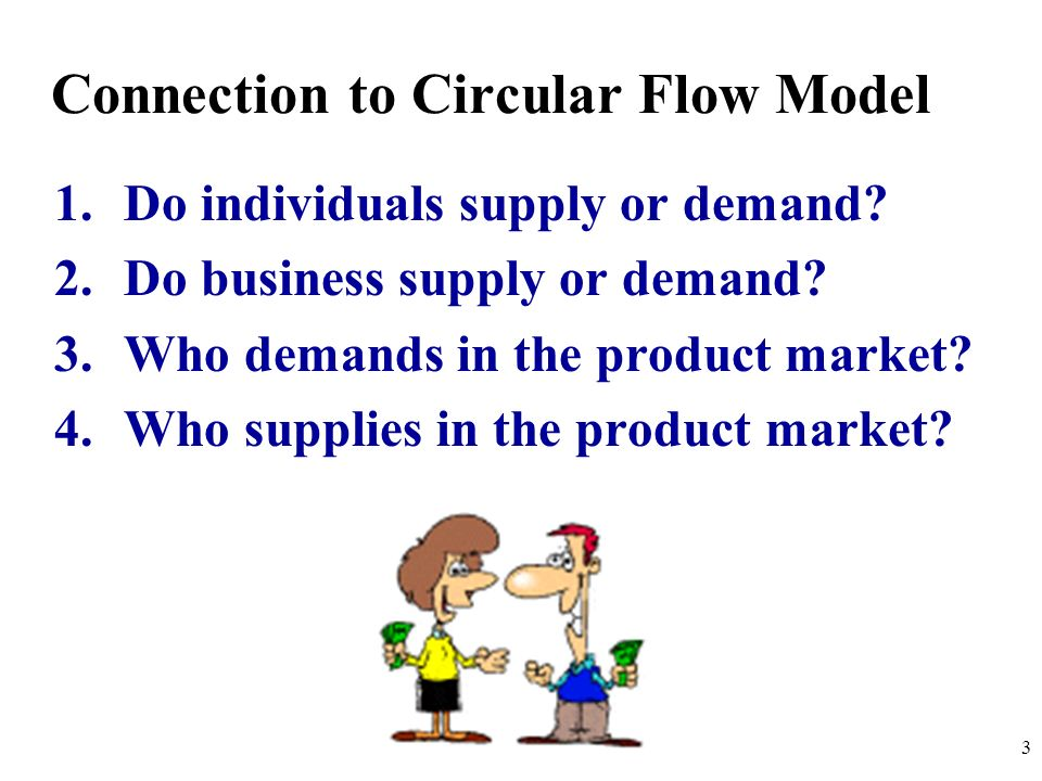 Connection to Circular Flow Model