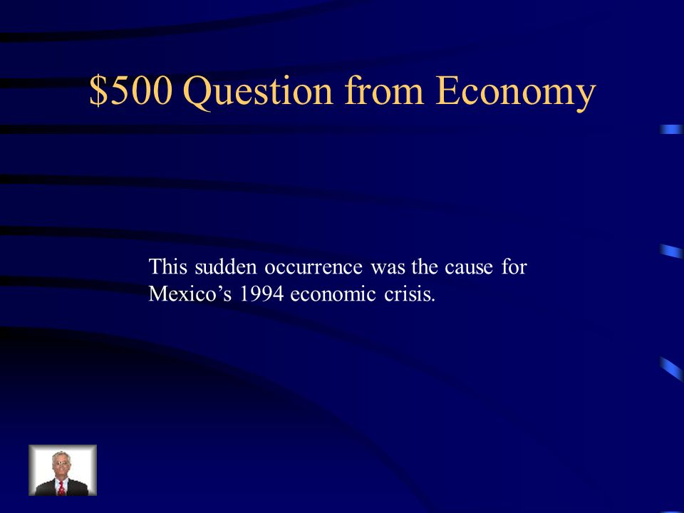 $500 Question from Economy