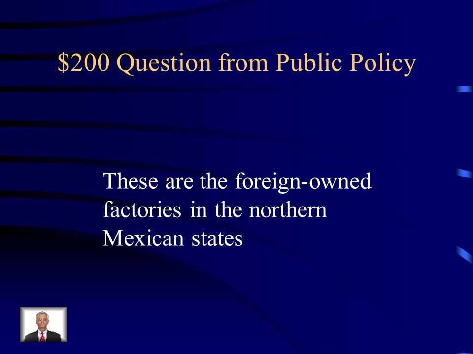 $200 Question from Public Policy