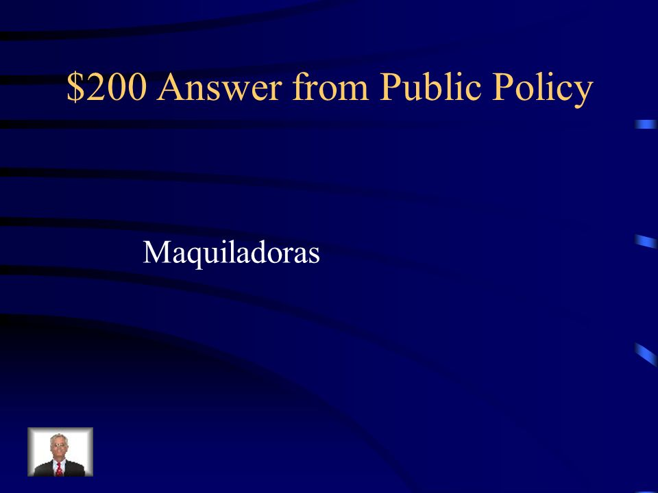 $200 Answer from Public Policy