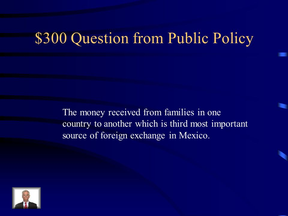 $300 Question from Public Policy