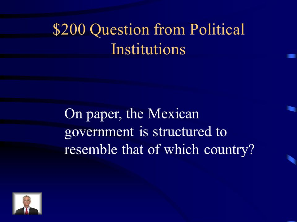 $200 Question from Political Institutions