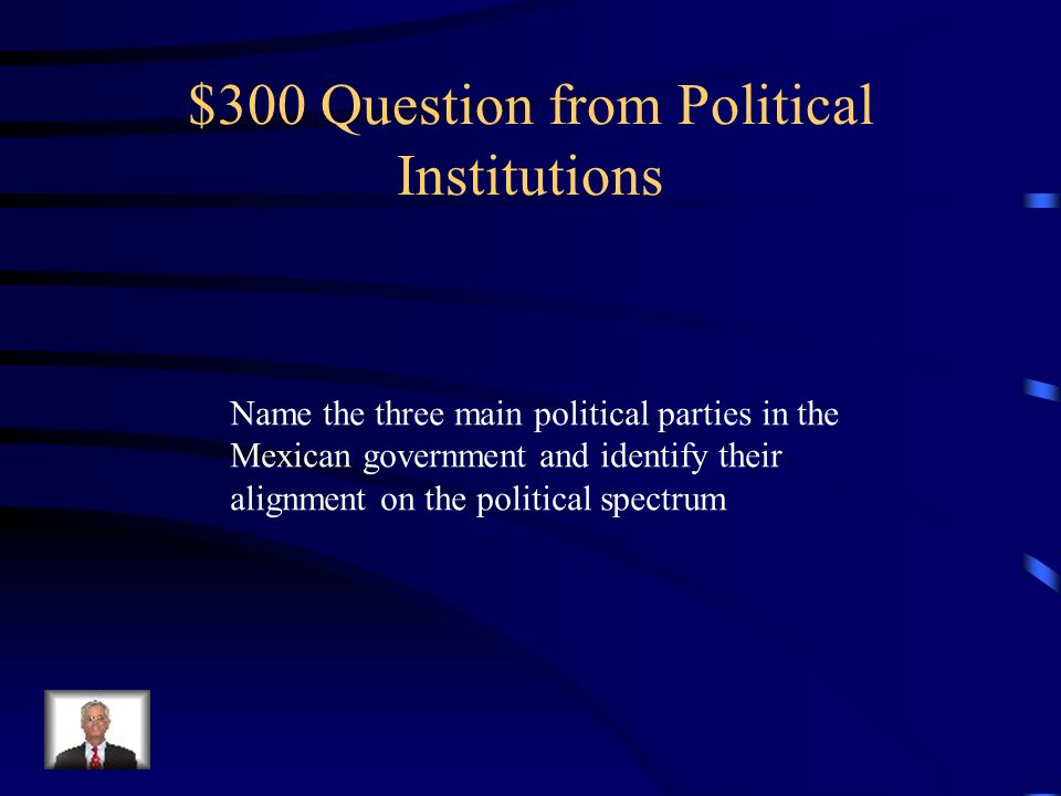 $300 Question from Political Institutions