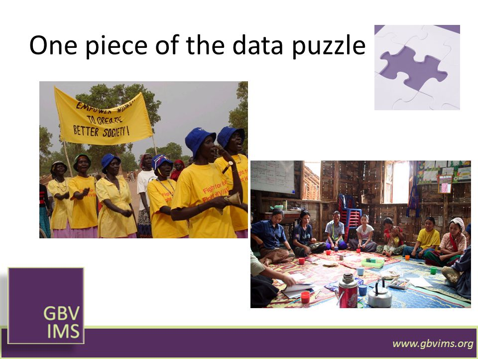 One piece of the data puzzle