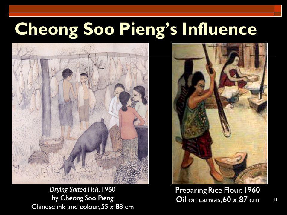 Cheong Soo Pieng's Influence