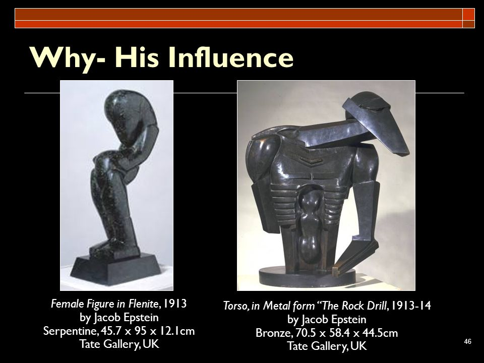 Why- His Influence Female Figure in Flenite, 1913