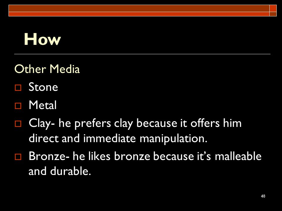How Other Media Stone Metal