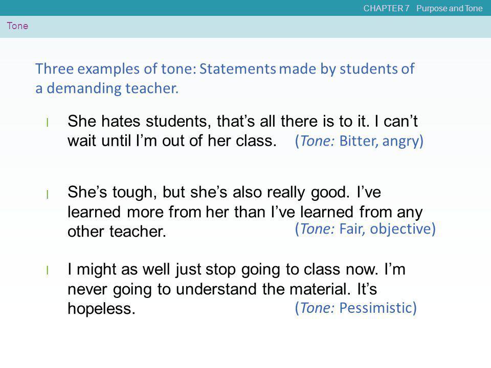 (Tone: Fair, objective)