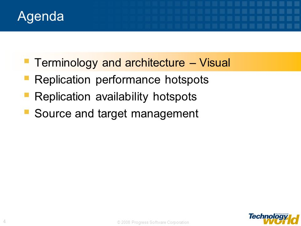 Agenda Terminology and architecture – Visual