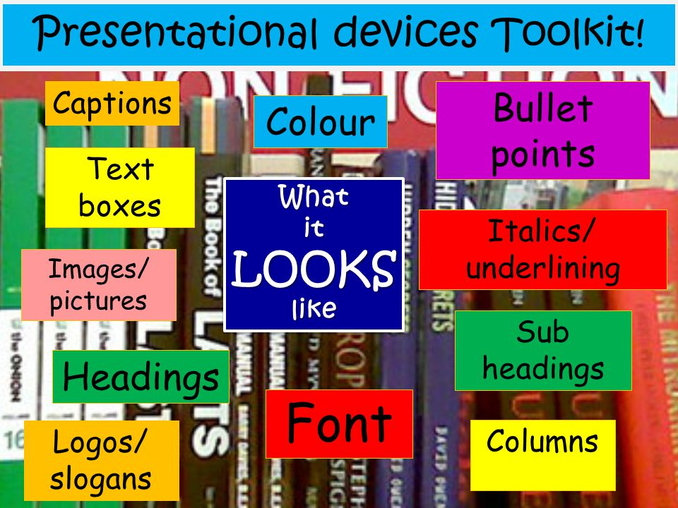 Presentational devices Toolkit!