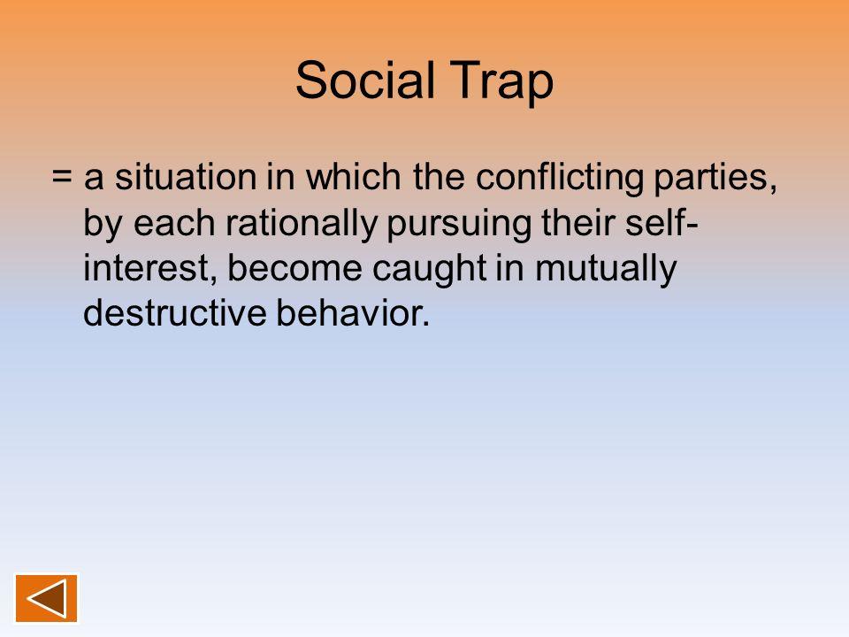 Social Trap