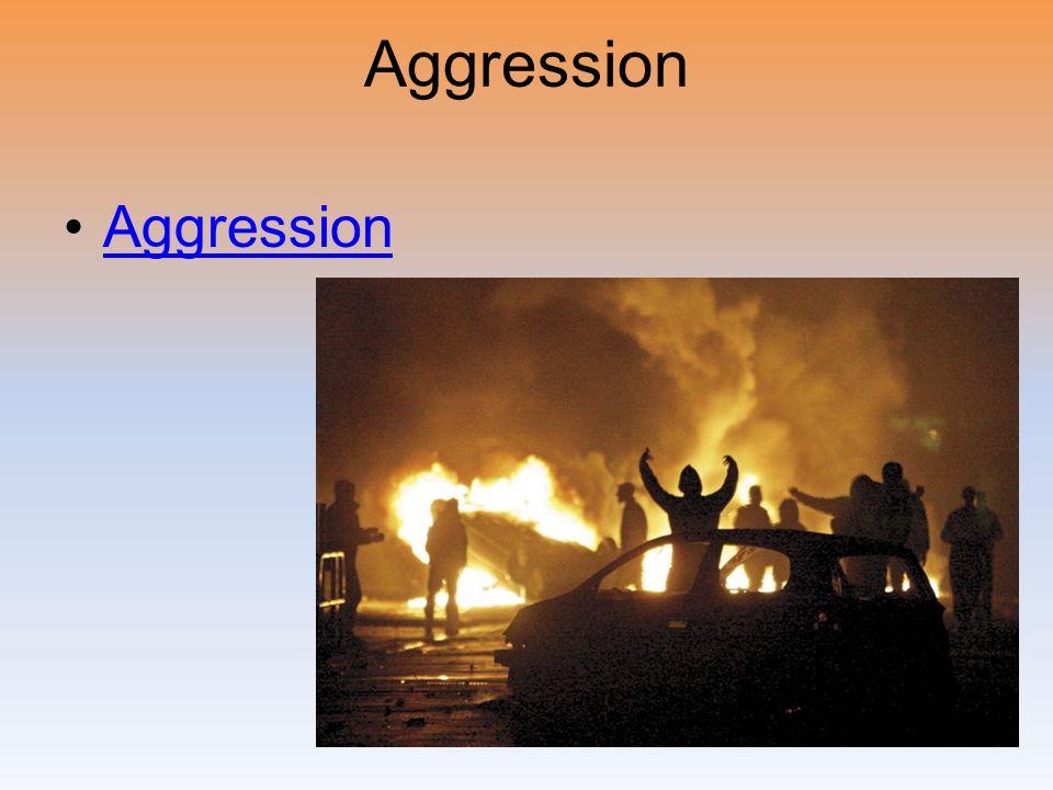 Aggression Aggression