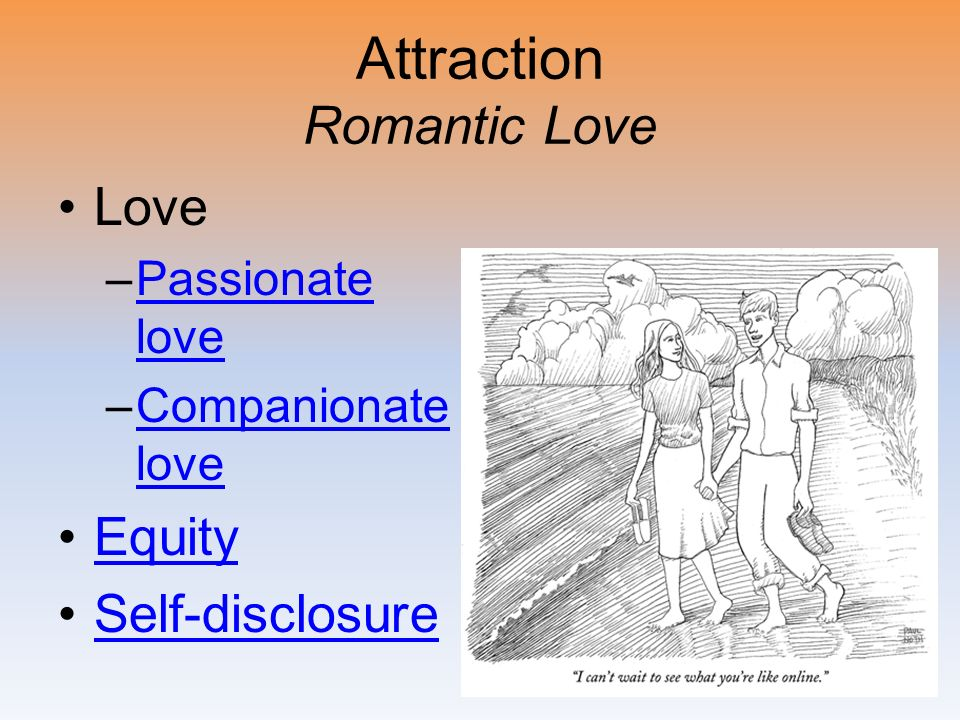 Attraction Romantic Love