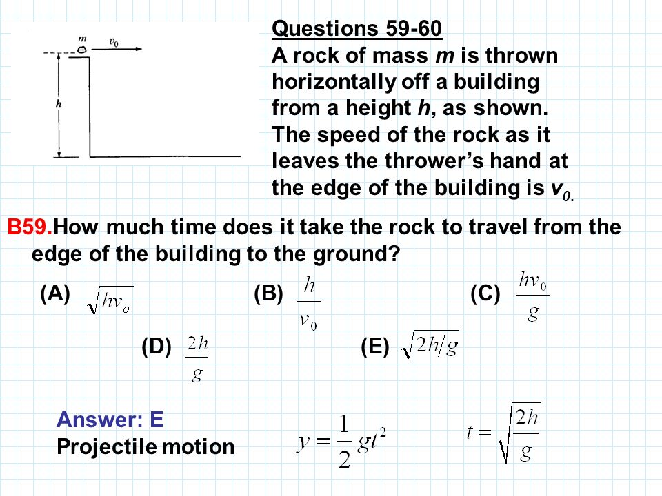 Questions 59‑60