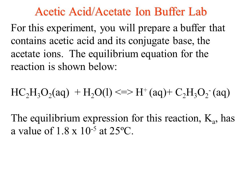 acids bases buffers Introduction to buffers a buffer is a solution that can resist ph change upon the addition of an acidic or basic components it is able to neutralize small amounts of added acid or base, thus maintaining the ph of the solution relatively stable.