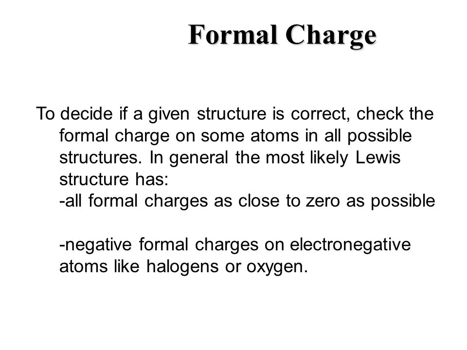 Equation For Formal Charge Jennarocca – Formal Charge Worksheet