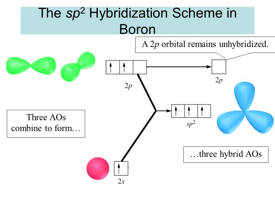 The sp2 Hybridization Scheme in Boron