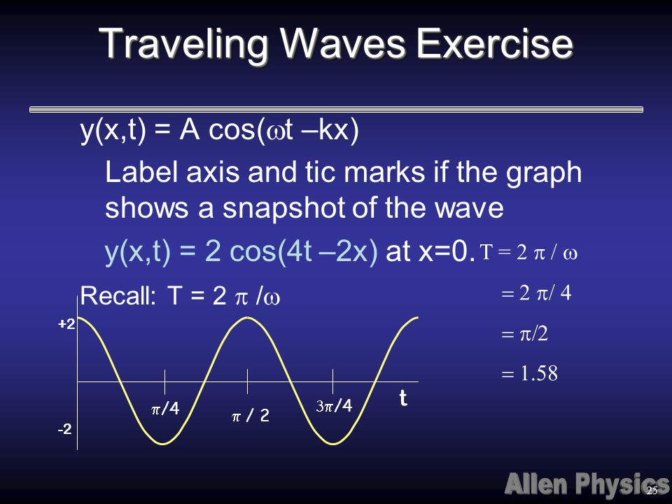 Traveling Waves Exercise