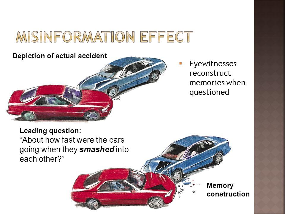 Misinformation effect