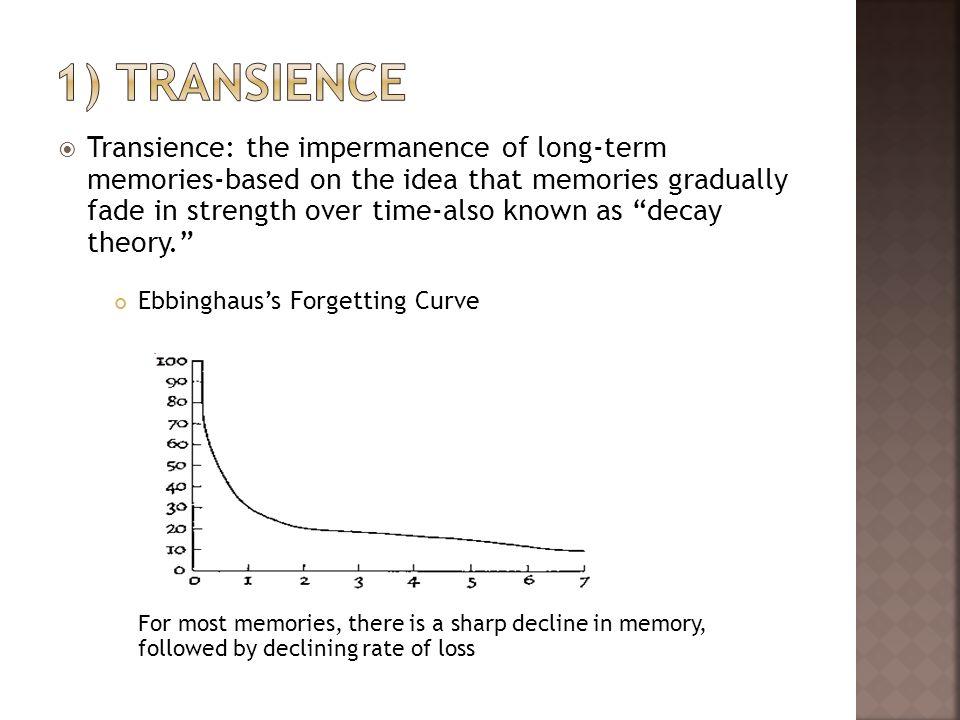 1) transience