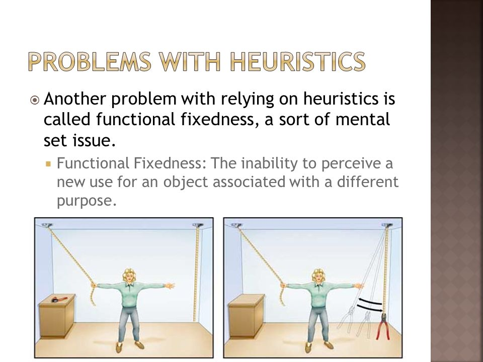 Problems With Heuristics
