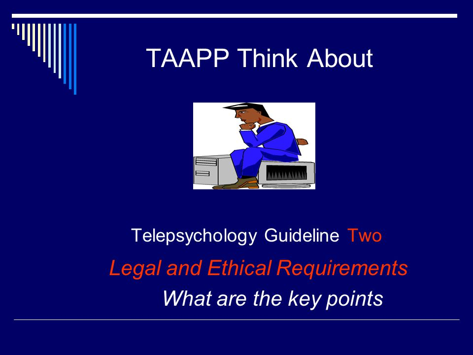 Telepsychology Guideline Two