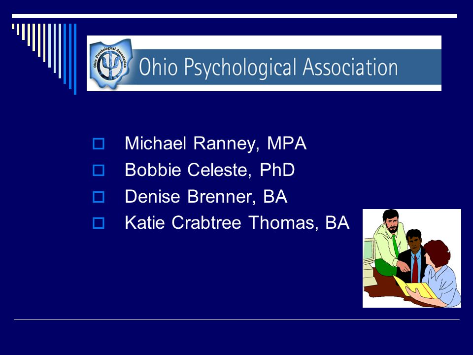 Ohio Psychological Association Staff
