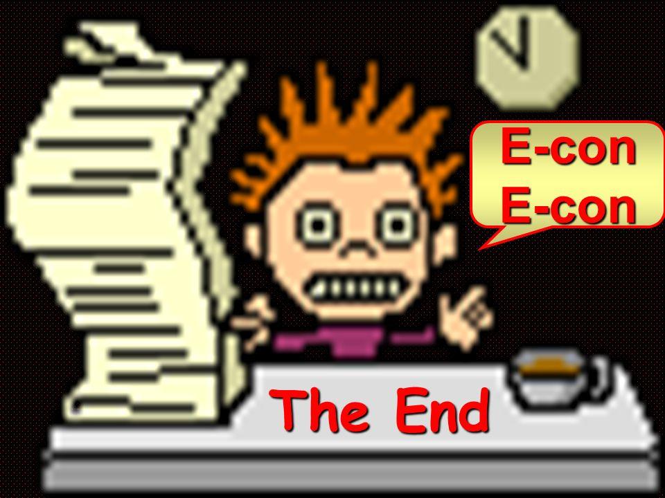 E-con The End