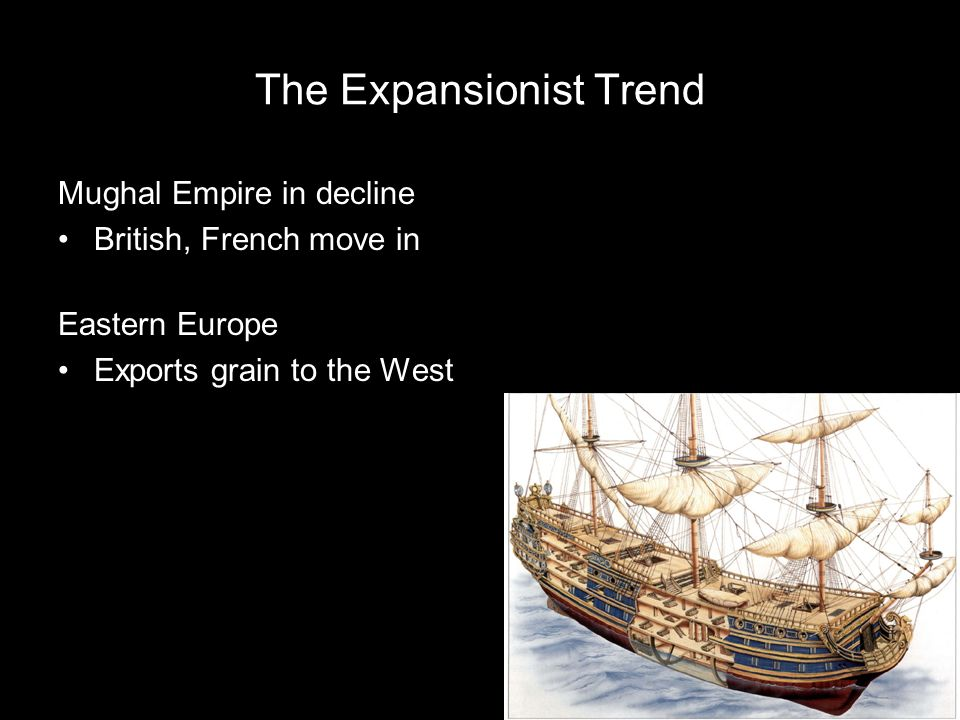 The Expansionist Trend