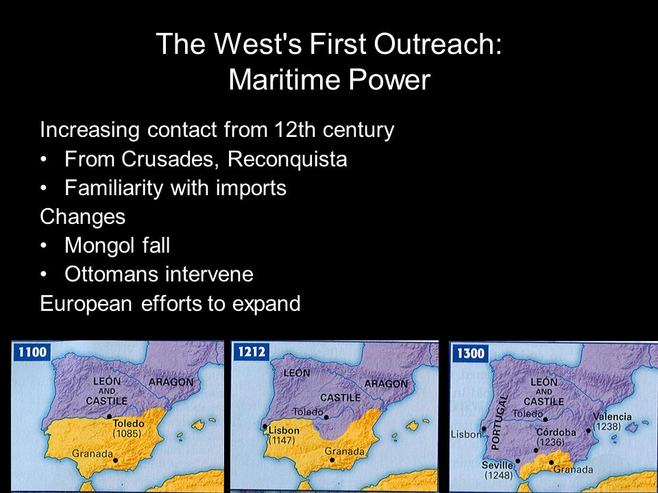 The West s First Outreach: Maritime Power