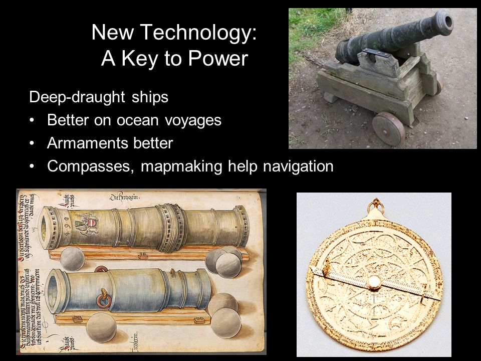 New Technology: A Key to Power