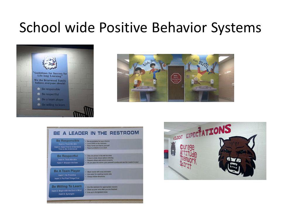 School wide Positive Behavior Systems