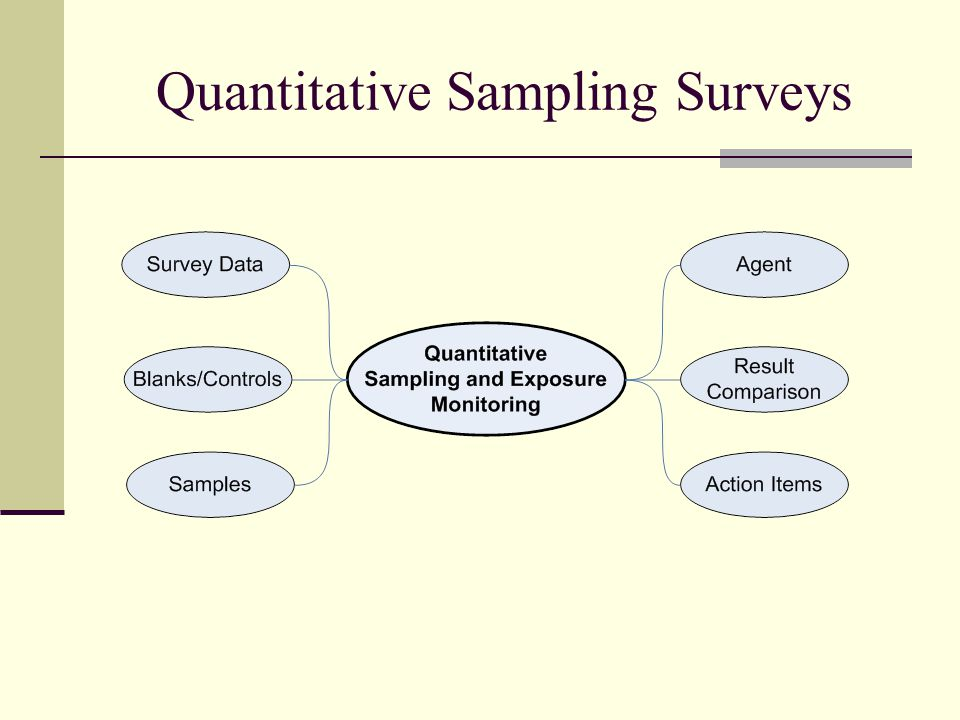 Quantitative Sampling Surveys