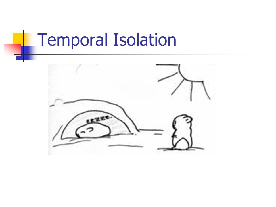 Temporal Isolation