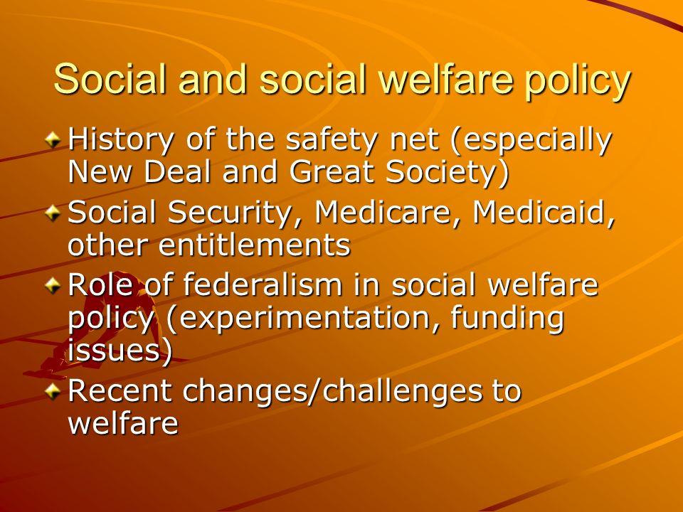 Social and social welfare policy