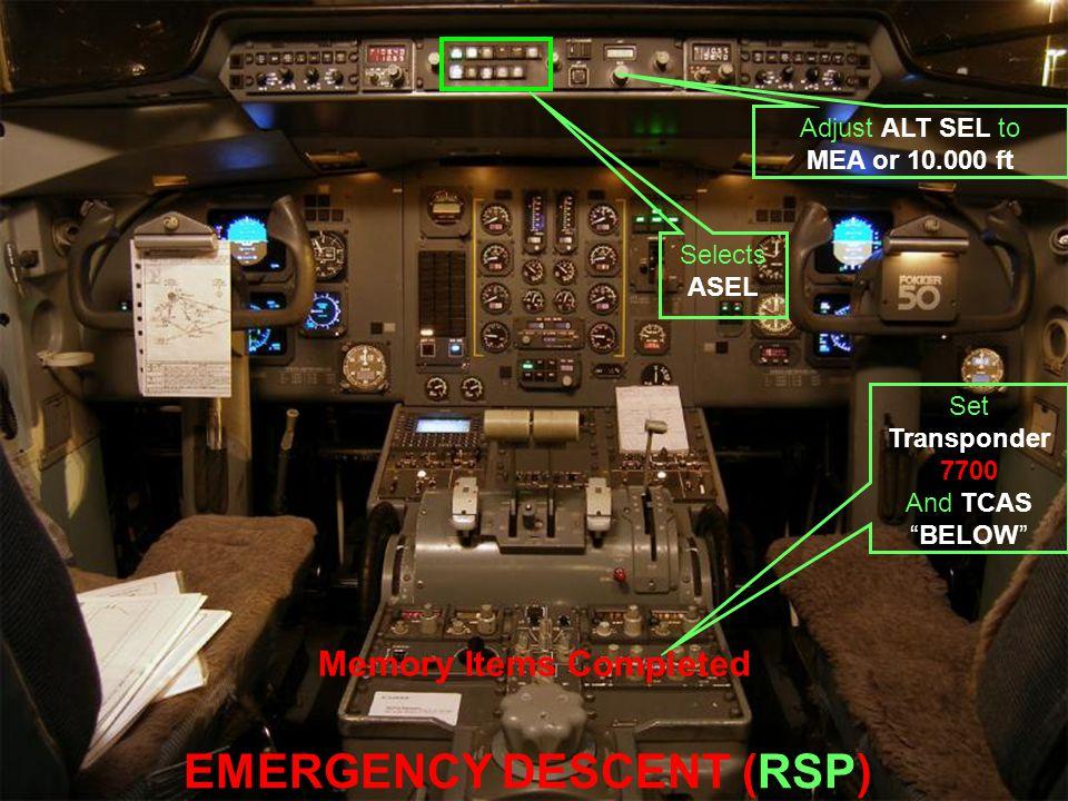 EMERGENCY DESCENT (RSP)